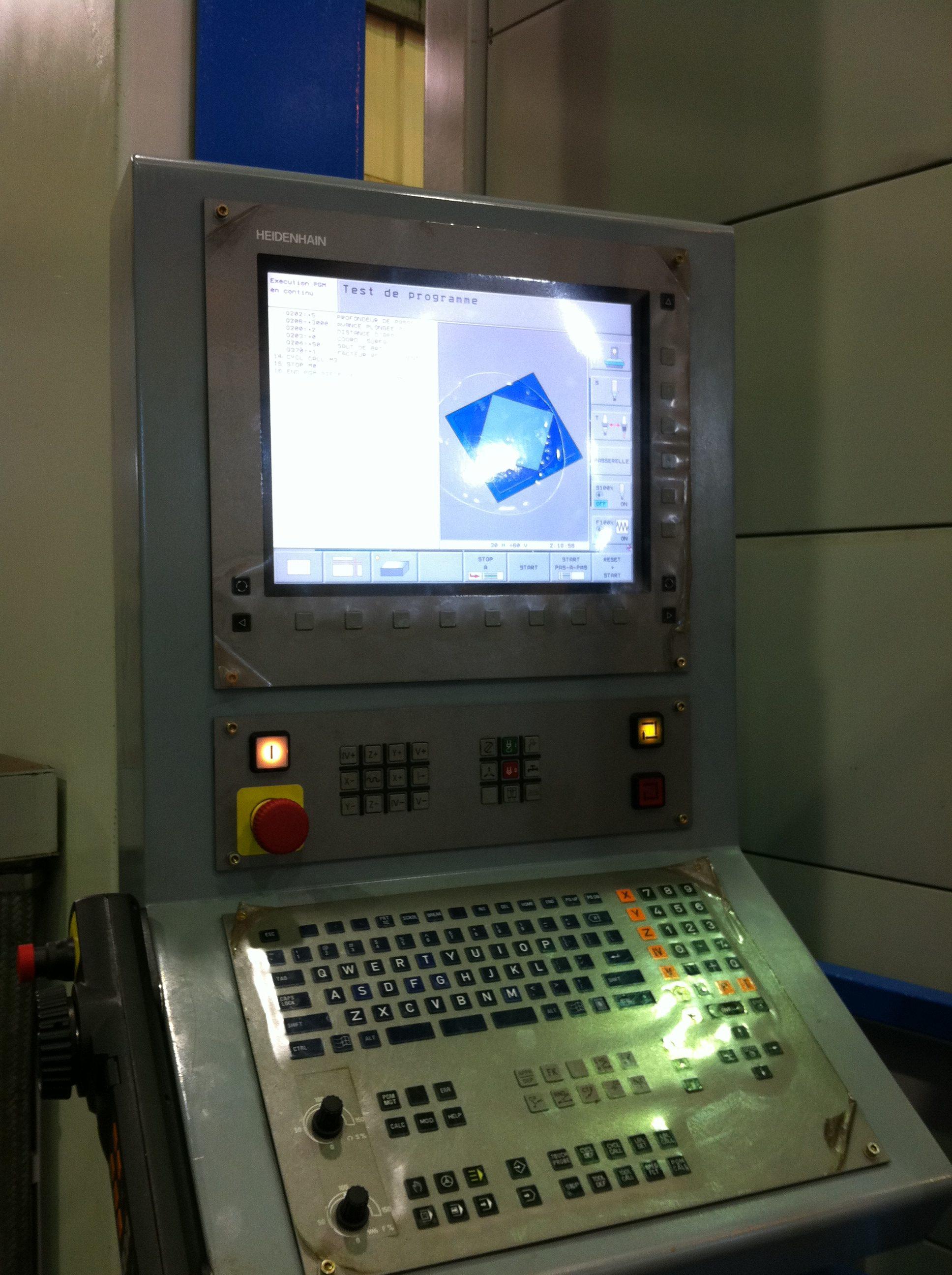 AMOTEP - CN ITNC 530 HEIDENHAIN